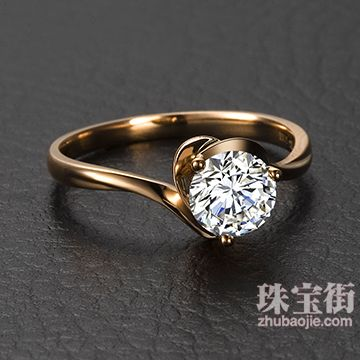 钻石镶嵌为何钟情于K金