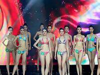 珠宝街2016新丝路中国模特大赛河南赛区总决赛比基尼泳装走秀
