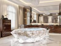 迪拜酒店引入世界最贵水晶浴缸 花数百小时打磨