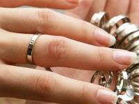 戒指尺寸对照表 如何测量自己的手寸?