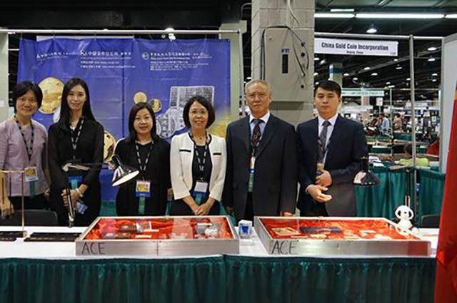 中国金币总公司受邀参加第128届美国ANA国际钱币展销会