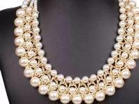 """一条得体的珍珠项链 不仅让你显露出""""天鹅颈""""还能更优雅!"""
