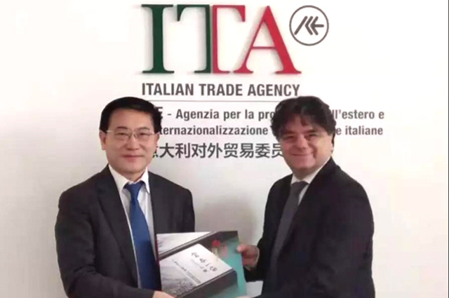 中宝协赴意大利探讨2020年中意珠宝产业交流与合作项目