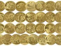 """有着""""世界猫王""""之称的""""不同姿态的大熊猫""""金币"""